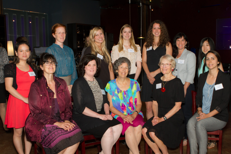 picture of previous Seattle AWIS scholarship winners